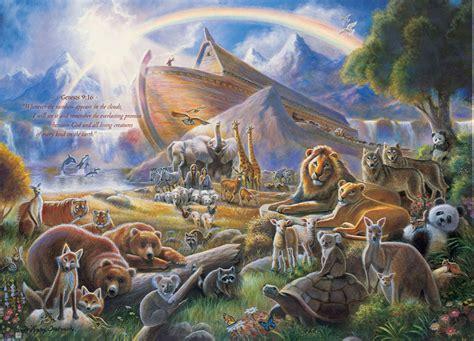 noah s ark jigsaw puzzle puzzlewarehouse