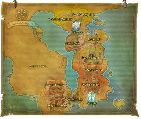 world map in ragnarok gallery word map images and