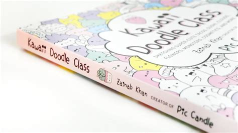doodle to play in class kawaii doodle class book giveaway closed