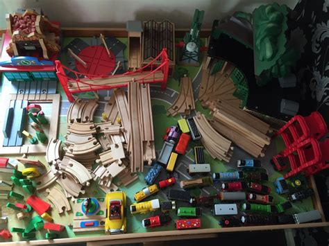 brio train with drawers wooden train with huge collection of track trains