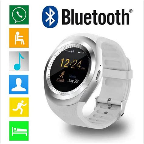 Y1 Smartwatch Support Nano Sim And Tf Card new wearable smart y1 support nano sim tf card with
