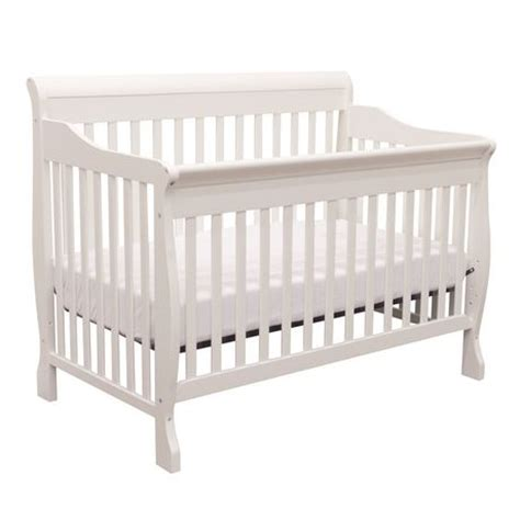 Walmart White Crib by Bily Albury Cotton White Sleigh Crib Walmart Ca
