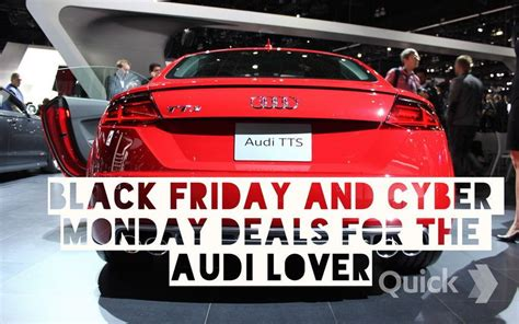 Auto Parts Cyber Monday Deals Black Friday Cyber Monday Deals For The Audi Enthusiast