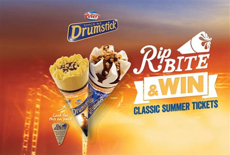Ticketmaster E Gift Card - peters ice cream purchase rip bite win drumstick d australian competitions