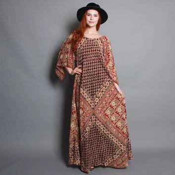 Maxi Dress Puspamaya Batik Tribal best indian batik dresses products on wanelo