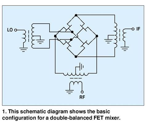 balanced diode mixer schematic balanced mixer theory circuit operation 28 images balanced mixer signal processing circuit