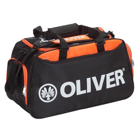 taschen leisurebag schwarz orange oliver sport