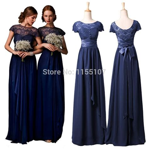 Floor Length Dresses Cheap by Aliexpress Buy 2015 Vintage Royal Blue Lace