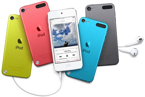 lineup of colors for upcoming ipod refresh includes