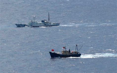 china japan fishing boat incident diaoyu islands claim sino us
