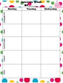 6 Week Lesson Plan Template by Best Photos Of Nine Week Calendar Template Monthly