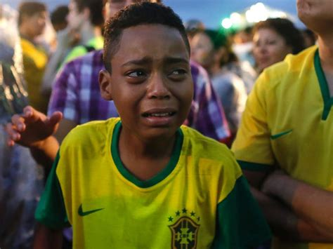 World Cup Brazil People | brazil s crushing world cup defeat its congruence with