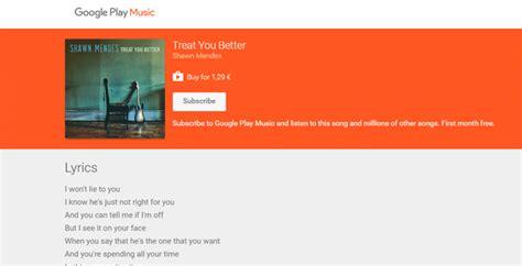 testo play mostra testi canzoni nelle ricerche e play musica