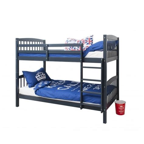 blue headboards for single beds brighton single bunk bed in blue noa nani