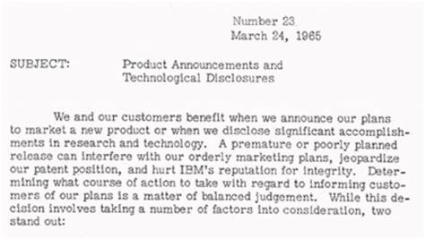Memo Sle Announcement Ibm100 The Professional Sales