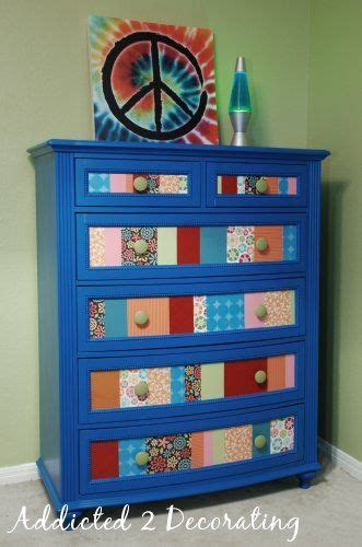 Decoupage Furniture With Scrapbook Paper - the world s catalog of ideas