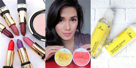 Krim Mata Emk 16 bisnis kosmetik garapan artis artis cantik mana yang