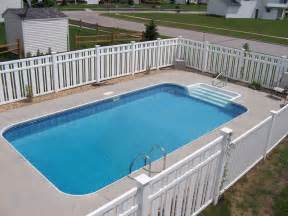 Above Ground Pool Handrails 14 X 28 Rectangle Swimming Pool Kit Royal Swimming Pools