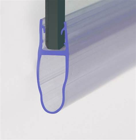 Shower Screen Bath Door Seal For 4 6mm Thickeness Glass Shower Seals For Curved Glass Doors