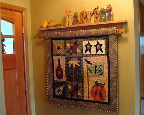 Quilt Rack Display by Squash House Quilts Unplanned Hiatus Is
