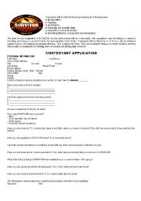 Application Vocabulary Worksheet by Teaching Worksheets Application Form