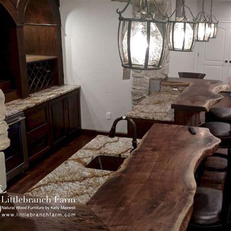 wood slabs for bar tops custom live edge black walnut wood slab bar top