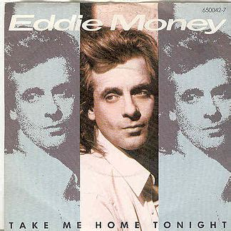 80s song of the day take me home tonight by eddie money