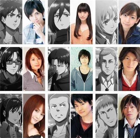 hottest voice actors voice actors when you see it attack on titan