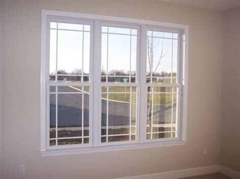 home windows grill design double hung prairie windows with quot extra quot grid lines don