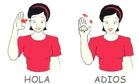 imagenes de hola en italiano hola y adi 243 s en lengua de signos espa 241 ola lengua de