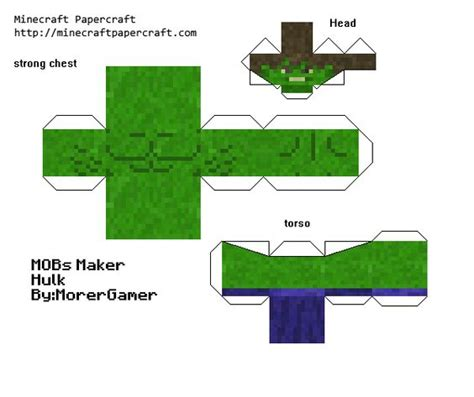 Minecraft Papercraft Maker - papercraft mob maker collection n8 s epic