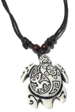 coqui tribal tattoo sea turtle necklace with coqui taino and taino sun white