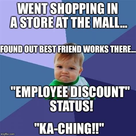 Shopping Meme - once in a while life gets real good imgflip