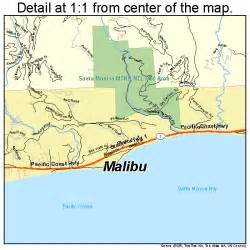 malibu california map 0645246