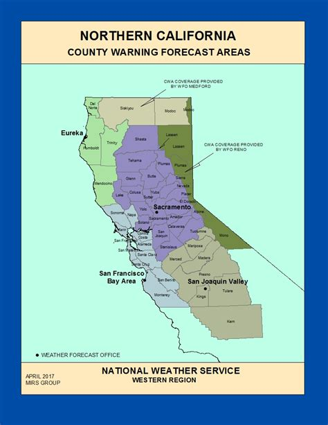 county map northern california maps northern california county warning forecast areas