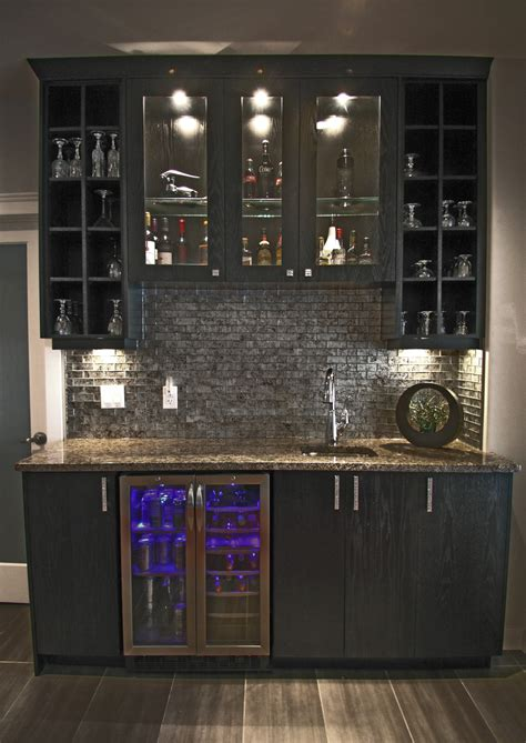 decorating gorgeous wet bar cabinets  entrancing