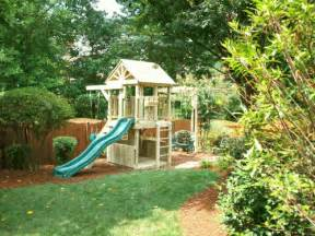 unique backyard playsets backyard playground crafted wooden playsets swing