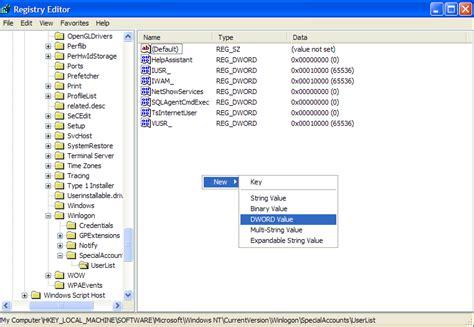 display administrator account on windows show administrator account on welcome screen windows xp