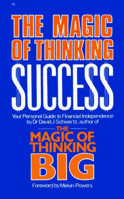 The Magic Of Thinking Success Murah Meriah books about success covers 650 699