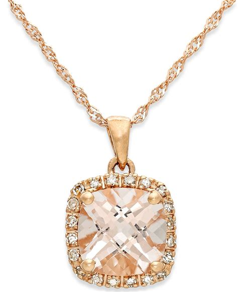 macy s morganite 1 1 4 ct t w and accent