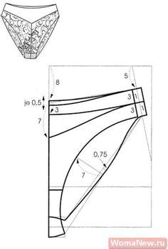 pattern shifting method of grading how to grade an underwear pattern using the shift method