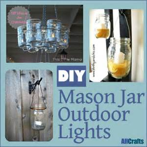 jar outdoor lights diy diy jar outdoor lights allcrafts free crafts update