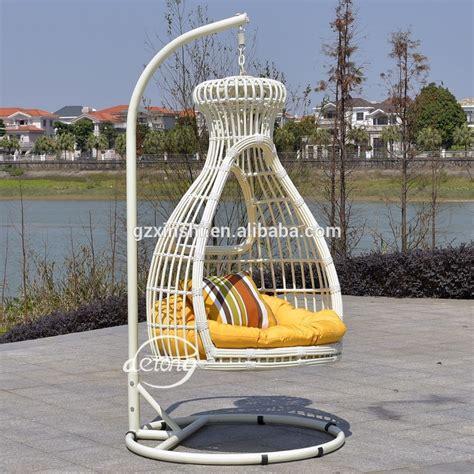 cheap garden swing chairs pe rattan garden hanging egg chair cheap price patio leaf
