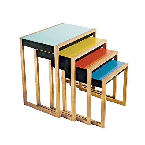 nesting tables designapplause nesting tables josef albers