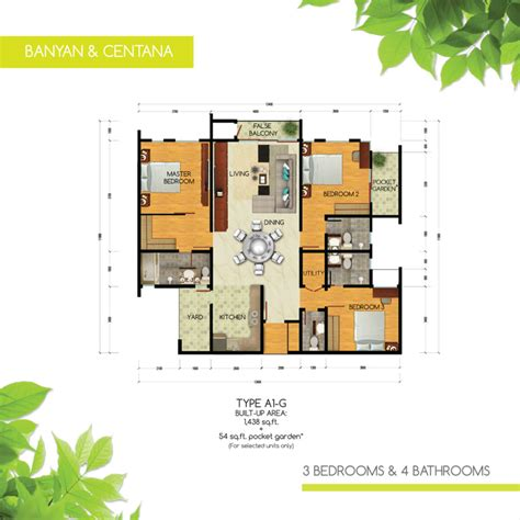 green floor plans review for green residence cheras south propsocial