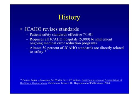 Jacho Standards For Detox Facilities In Florida by Sroa Presentation Clinical Results Of A Error