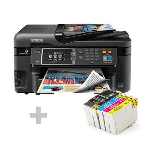 Printer Epson Wf 3620 epson workforce wf 3620 all in one color inkjet printer