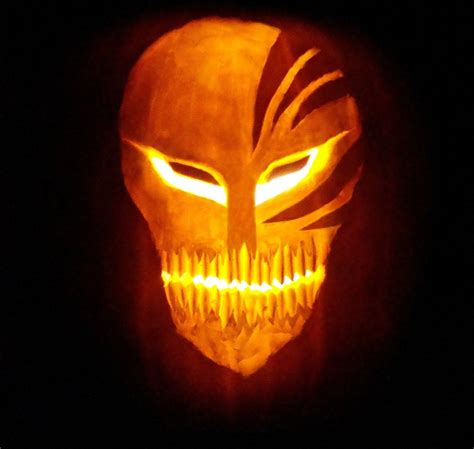 hollow mask lit pumpkin style by jaggedhammer on deviantart