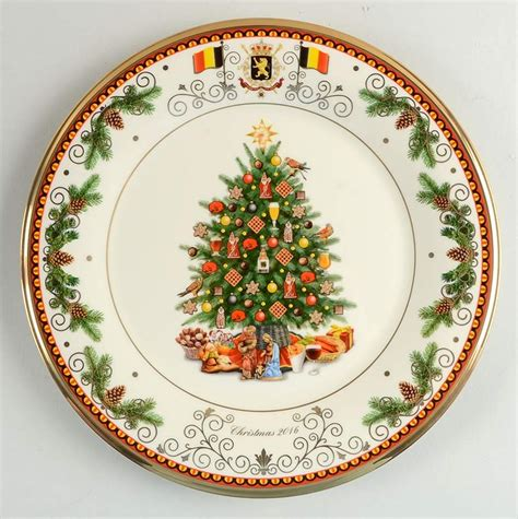 lenox xmas tree plate france lenox trees around the world spain plate 2008 ebay