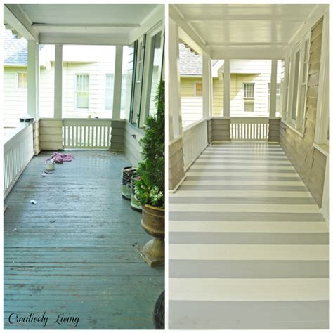 hometalk painting stripes on your porch